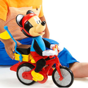 Silly Wheelie Mickey