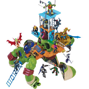 Teenage Mutant Ninja Turtles Leo Playset