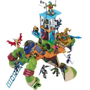 Teenage Mutant Ninja Turtles Leo Playset