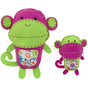 American Girl Crafts Monkeys Sew and Stuff Kit