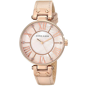 Anne Klein Rose Gold-Tone Watch