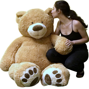Big Plush 5 Feet Tall Teddy Bear