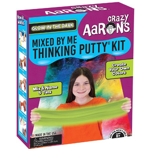 Crazy Aarons Thinking Putty Mixed By Me