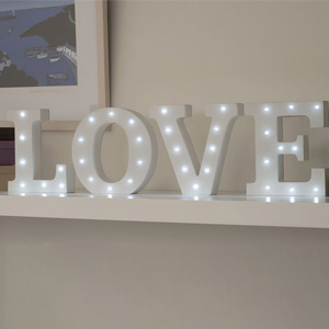 Creative Hobbies Light Up Letter