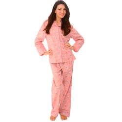 Del Rossa Flannel Pajama Set