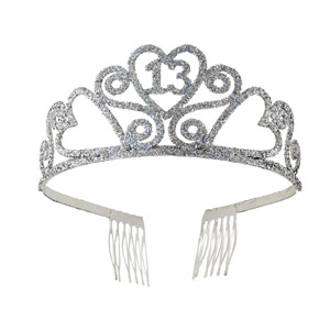 Forum Novelties 13th Birthday Glitter Tiara