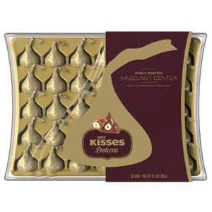 Kisses Deluxe Chocolates Gift Box