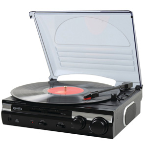 Jensen JTA-230 3 Speed Record Player