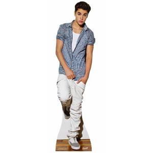 Justin Bieber Lifesize Standup Poster