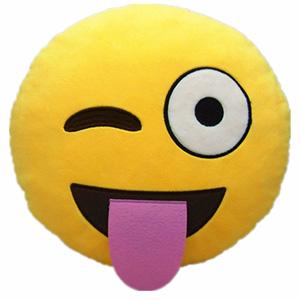 Emoji Smiley Emoticon Pillow