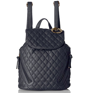 MG Collection Quilted Drawstring bag