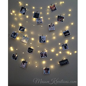 Mason Kreations FireFly Lights with Craft Clips