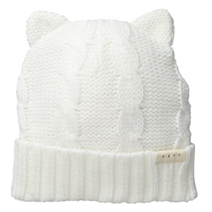 Neff Women's Cat Ears Beanie