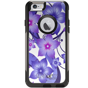 Otterbox Commuter Case Purple Flowers