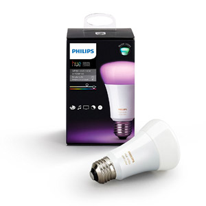Philips 464503 Hue White and Color A19 LED Bulb