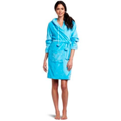 Seven Apparel Hooded Plush Robe