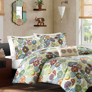 Tamil 3 Piece Duvet Cover Set