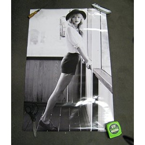 Taylor Swift Black and White Music Poster