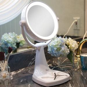 Zadro Max Sunlight Dual Sided Vanity Mirror