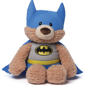 Gund DC Comics Batman Malone Teddy Bear