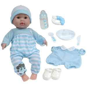 JC Toys Boy Baby Doll
