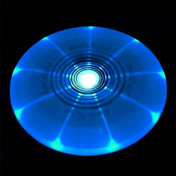 L.E.D Light Up Flying Disc