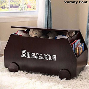 DIBSIES Personalized Premium Edition Toy Box