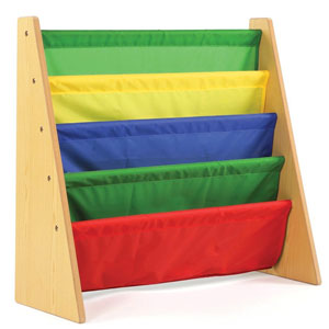 Tot Tutors Kids Book Rack Storage Bookshelf