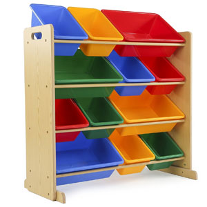 Tot Tutors Kids Toy Storage Organizer
