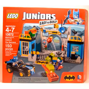 Lego Juniors Defend The Bat Cave
