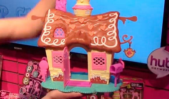 MY LITTLE PONY Sugarcube Corner Play Set