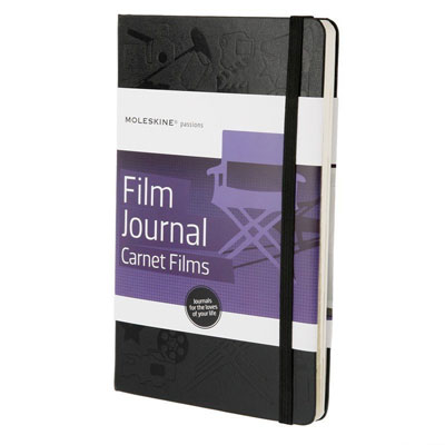Black Moleskin Film Journal For Cinema Buffs