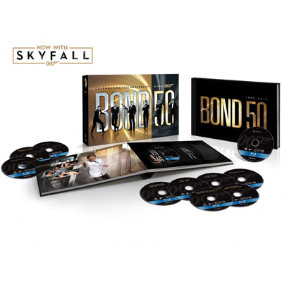 Bond 50: Collection of 23 Films For Movie Lovers