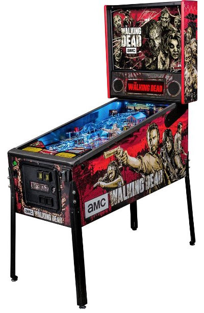 Large The Walking Dead Arcade Pinball Machine