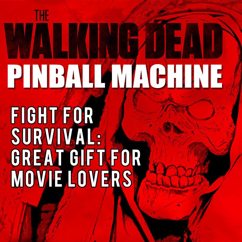 the walking dead pinball machine