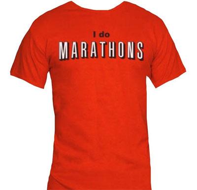 Netflix I Do Marathons T-Shirt For Movie Lovers