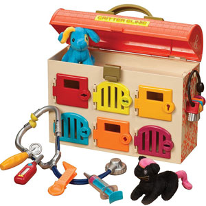 B. Critter Clinic Toy Vet Play Set
