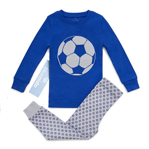 "BLUENIDO  ""SOCCER BALL"" 2 Piece Pajama Set"