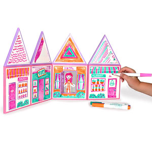 Build & Imagine: Draw & Build Dollhouse