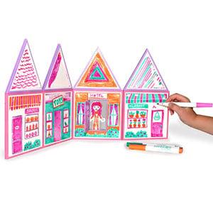 Build & Imagine: Draw & Build Dollhouse