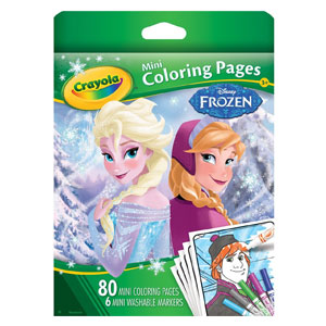 Crayola Frozen Color Pages