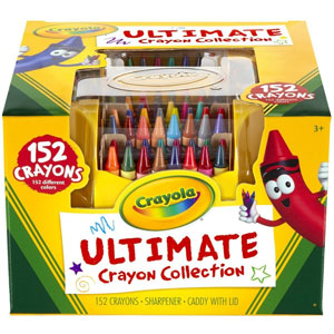 Crayola Ultimate Crayon Collection 152 Colors
