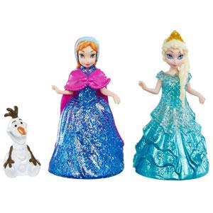 Glitter Anna, Elsa and Olaf
