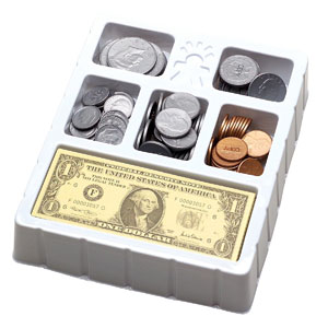 Educational Insights Play Money - Coins & Bills