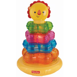 Light-Up Lion Stacker