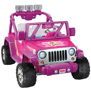 Power Wheels Barbie