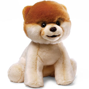 Boo Stuffed Dog