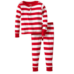 Hatley Pajama Set-Candy Cane Stripes