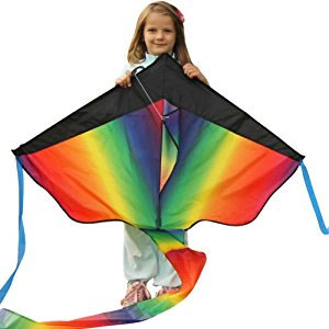 Huge Rainbow Kite For Kids