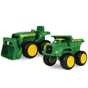 John Deere Sandbox Vehicle, 2-Pk